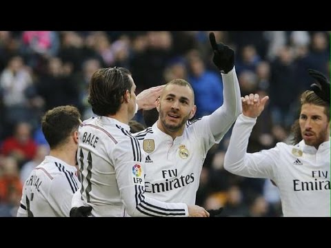 Real Madrid 4-1 Real Sociedad | Goles | COPE | 31/01/2015