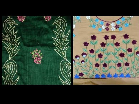 Machine embroiderd suits design ideas