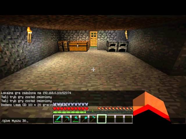 kody do minecrafta