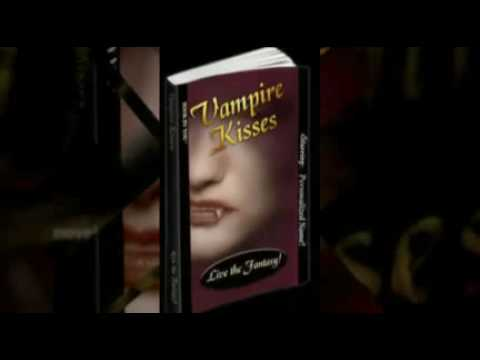 Vampire Kisses - Personalized Romance Novel - (For Twilight & True Blood Fans)