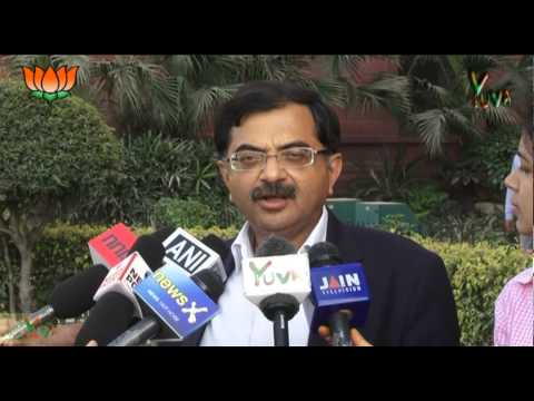 BJP Press : Shri Tarun Vijay regarding Defence violation by Google: 19.03.2013