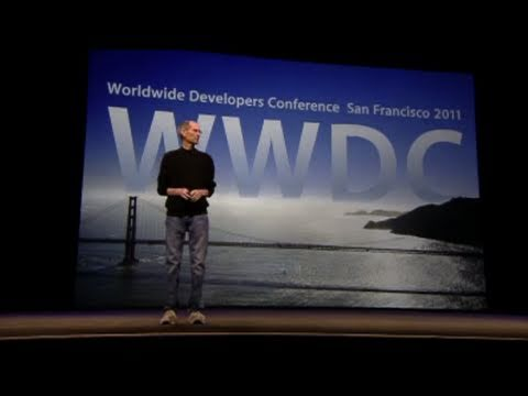 Steve Jobs WWDC 2011 Keynote in 60 Seconds Music Videos