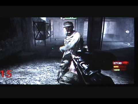 Call of Duty 5 (World at War) zombie glitch- unlimited weapons