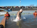 Shanty Days 2017 Polar Bear Dip in Caseville, Michigan