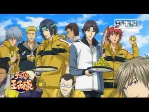 The New Prince of Tennis: primeiro PV do anime