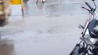 Indore Police Duty In Rain | Respect Indore Police | Salute Madhya Pradesh Police