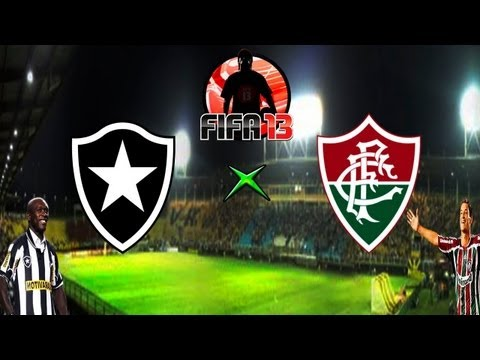 Fifa 13 - Botafogo x Fluminense - Melhores Momentos - 05-05-13