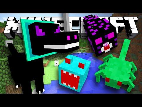 РЕДКИЕ МОНСТРЫ - Minecraft (Обзор Мода)