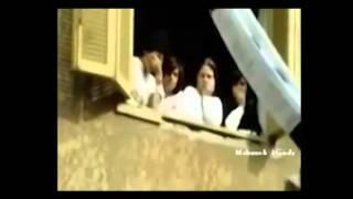 رد فعل المصريين عند رفع العلم الاسرائيلي لأول مرة في القاهرة 1980