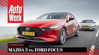 Mazda 3 vs. Ford Focus - AutoWeek Dubbeltest