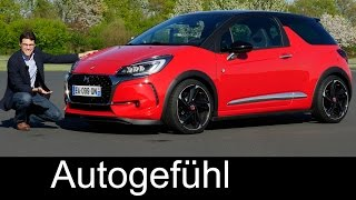 DS3 Performance 210 hp hot hatch FULL REVIEW test driven new neu - Autogefühl
