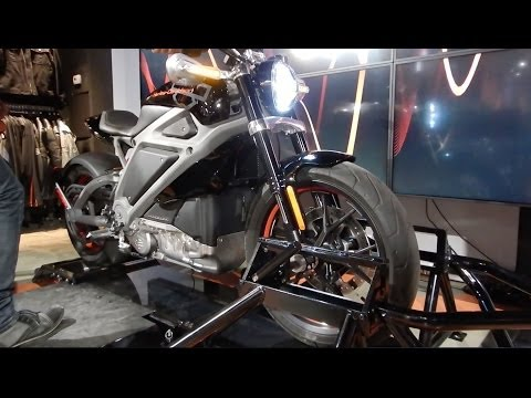 Harley-Davidson Electric Motorcycle: Hear Its Sound