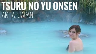THE MOST BEAUTIFUL ONSEN IN JAPAN | Tsuru no Yu