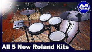 I Got To Play Roland's 5 New Drumsets: Here Are My First Impressions