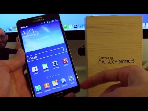 How To Unlock Samsung Galaxy Note 3 - step by step tutorial.