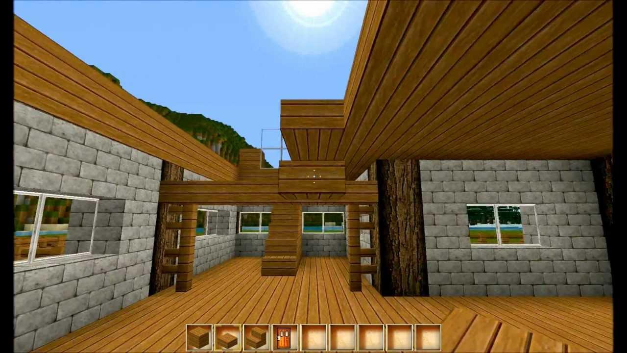 Lb gronkhs bauernhaus 5 minecraft ein dachboden ohne for Modernes haus ohne dach