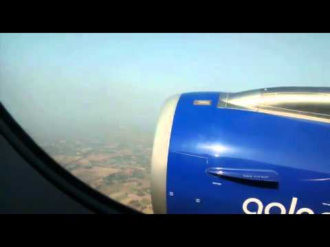 Landing at Ahmedabad International Airport in a charming weather | Indigo Airline