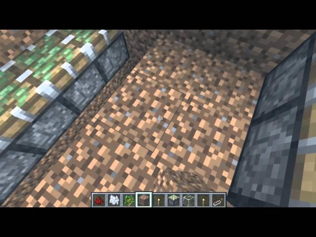 Semi-Auto Tree/Apple Farm Minecraft (Works in 1.7.4)