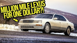 I Just Bought A Lexus With 1 MILLION MILES On It For ONE DOLLAR!