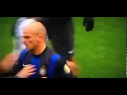 Esteban Cambiasso Sick Foul (Inter Milan - Juventus) 30-03-2013