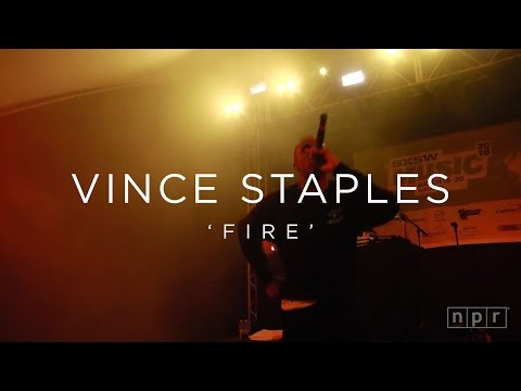 Vince Staples: 'Fire' SXSW 2016 | NPR MUSIC FRONT ROW