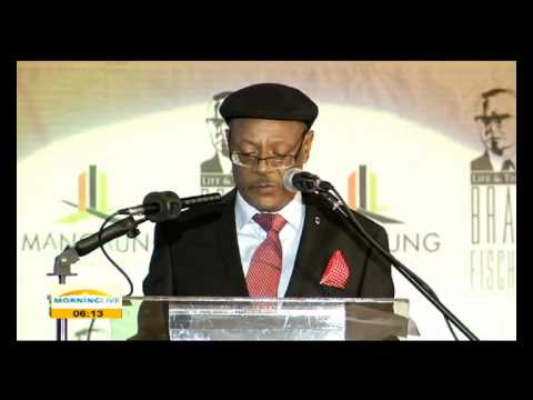 Exec Mayor Thabo Manyoni delivered Bram Fischer Memorial Lecture