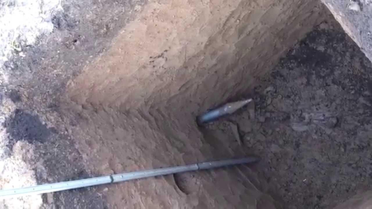 Как сделать прокол в земле для водопровода