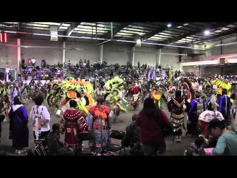 Part 2 Friday Grand Entry San Juan College Powwow 2014