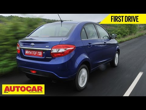 2014 Tata Zest Compact Sedan Petrol & Diesel AMT   First Drive Video Review   Autocar India