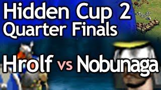 AoE2 Hidden Cup #2 | Hrolf the Ganger vs Nobunaga! Quarterfinal #1