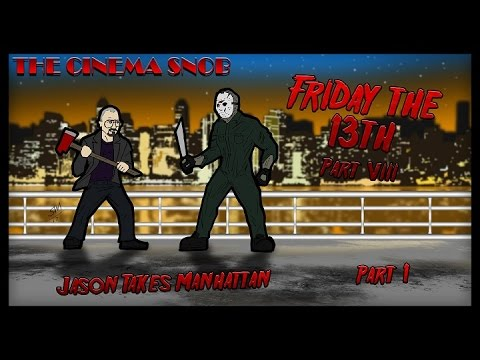 The Cinema Snob: FRIDAY THE 13TH, PART VIII: JASON TAKES MANHATTAN (Part 1)