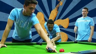 Clichy and Nasri Team up at Pool | CityTV versus Gael Clichy