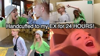 Handcuffed to my EX for 24 HOURS! FT.. Zoe Laverne