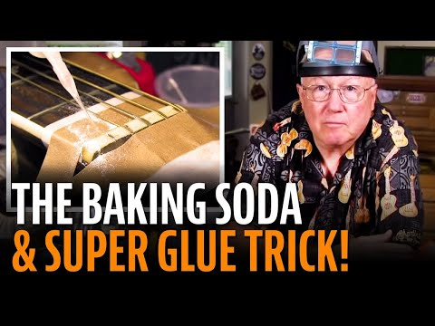 The baking soda and super glue trick Music Videos