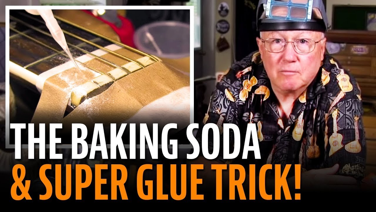 The Baking Soda And Super Glue Trick Youtube