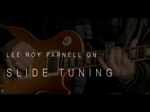 Lee Roy Parnell On Slide Tuning• Wildwood Guitars Interview