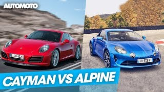 Duel : Porsche Cayman vs Renault Alpine