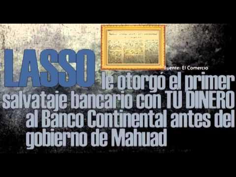 Lo que Guillermo Lasso no quiere que sepas del Feriado Bancario