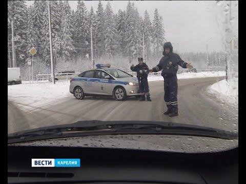 Дальнобойщики устроили в Петрозаводске акцию протеста