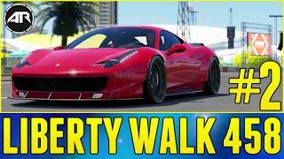 Forza Horizon 3 Let's Play : WIDEBODY FERRARI 458 BUILD!!! (Part 2)