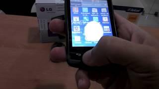 LG Optimus L1X (E410) - Telcel® Guerrero Mobile -