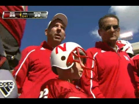 Nebraska Cornhuskers - Jack Hoffman's Amazing 69-Yard TD Run at the  Spring Game - 4/6/13