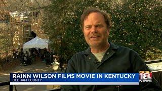 Rainn Wilson Films Movie In Kentucky