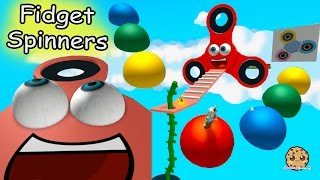 Giant Fidget Spinners Rainbow Shapes Obby & Hide and Seek Extreme Roblox Video Game