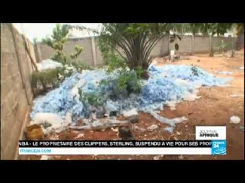 """L'EAU QUI TUE, Des sachets d'EAU vendus à prix dérisoires  """" Cas du Togo #France24"""