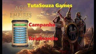 Age Of Empires - Difinive Edition - Campanha - Relembrando - YouTube e Twitch