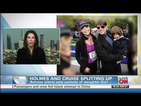 Debra Opri breaks down Tom Cruise/Katie Holmes divorce on CNN (June 30, 2012)