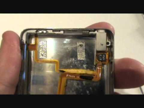 Tutorial - iPod Video - Replace Headphone Jack & Hold Switch Assembly
