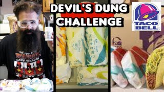 Taco Bell: $10 Cravings Pack + Devil's Dung Challenge | FreakEating | Fast Food Addiction?