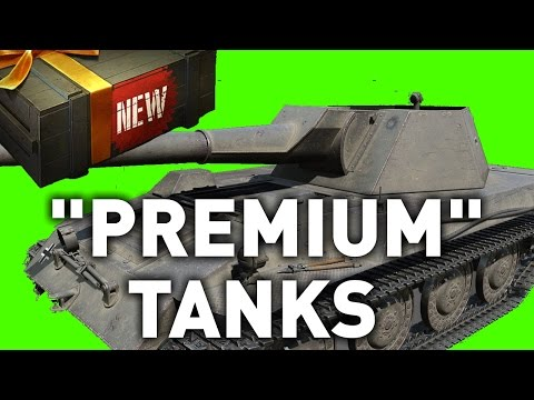 "World of Tanks || NEW ""PREMIUM"" TANKS"